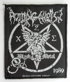 Rotting Christ - 'Black Metal' Woven Patch